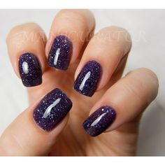 Witch Way Nail Polish - Purple Holographic Nail Lacquer 0.5 oz Full... ($8.75) ❤ liked on Polyvore featuring beauty products, nail care, nail polish, nails, makeup, beauty, unhas and shiny nail polish