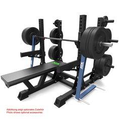ATX Bench Press Rack System V2 - maximal belastbar bis 800 kg - Eine einfache und sichere Handhabung sowie die robuste Bauweise mit den daraus resultierend hohen Sicherheitsreserven machen das ATX® - Power Bench Press System zum idealen Kraftgerät für den professionellen Athleten. Hier gehts zum Angebot: http://www.megafitness-shop.info/Kraftsport/Kraftgeraete-nach-Marken/ATX/ATX-Bench-Press-Rack-System-V2--3726.html