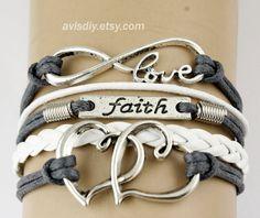Christmas giftInfinity lovefaithdouble love by avisdiy on Etsy, $3.39