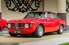 Classic Car News Pics And Videos From Around The World Alfa Romeo Gtv6, Alfa Romeo Cars, Audi Tt, Ford Gt, Peugeot, Alfa Gta, Volvo, Volkswagen, Toyota