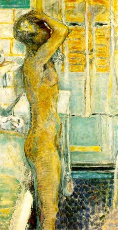 The grey nude - Pierre Bonnard