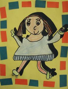 a faithful attempt: Shadow Portraits First Grade Art, First Art, Grade 3, Square One Art, Shadow Portraits, Drawing Practice, Elementary Art, Teaching Art, Art For Kids