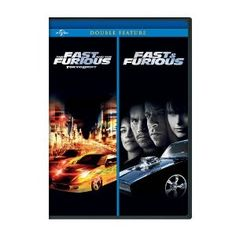 The Fast and the Furious: Tokyo Drift / Fast & Furious (2009) Double Feature (Universal Studios Home Entertainment)