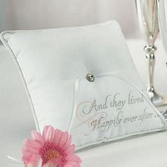 Cinderella Theme Wedding Ring Bearer Pillow