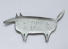 lupo con guance paffute - cucchiaio grazioso riposo, piastra di lupo