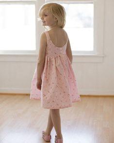 Sophie Dress The Simple Life Pattern Company Girls Easter Dresses, Little Girl Dresses, Girls Dresses, Flower Girl Dresses, Summer Dresses, Toddler Fashion, Toddler Outfits, Kids Outfits, Kids Fashion