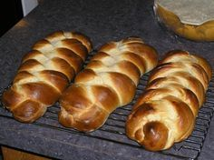 Nisu (Finnish bread, also known as pulla).  So tasty.  Best homemade or from Suomi Bakery.
