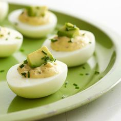 Deviled eggs, avocado, and bacon. This recipe proves you can't have too much of a good thing.