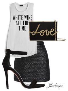 """Night out with the girls"" by craze92 on Polyvore featuring Steve Madden and Lanvin"