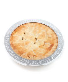 Look what I found on #zulily! Pie Crust Shield #zulilyfinds
