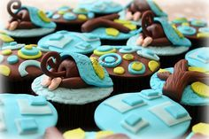 Monkey Bum Cupcakes - By Cupcations