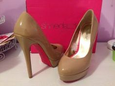 Available @ TrendTrunk.com Shoe Dazzle Heels. By Shoe Dazzle. Only $57.00! Shoe Dazzle, Pumps, Heels, Christian Louboutin, Peep Toe, Trunks, Money, Animals, Fashion