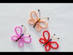 Beads for beginners. Beaded Flowers Patterns, Beaded Earrings Patterns, Jewelry Patterns, Beading Patterns, Beading Techniques, Beading Tutorials, Beaded Crafts, Jewelry Crafts, Beaded Spiders