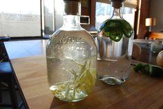 infused vodkas.