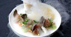 Ceviche de bar sauvage aux petits légumes, beignets de calmars Didess et Kokketeute blonde #dolceworld #gastronomy #recipe
