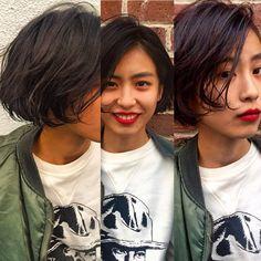 bibito TSUJII&NAGAIさんのヘアカタログ | 外国人風,パーマ,ダークカラー,黒髪,外ハネ | 2016.03.07 07.58 - HAIR