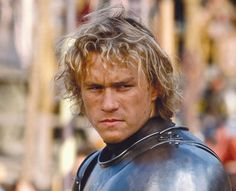 heath ledger. he was an amazing actor, and very much missed. A Knight's Tale was one of my favorites!