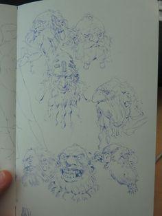 dwarves- Even Mehl Amundsen Sketches