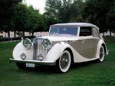 1948 Jaguar Mark IV...Brought to you by #House of #Insurance in Eugene, Oregon I want this one...