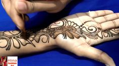 Arabic Henna - New Easy Simple Arabic Henna Design for hand Step by Step...