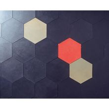 loving hexagons and leather these days, so...