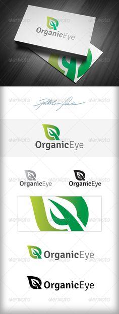 Organic Food Shop Logo - Gardening Club Logo - Nature Logo Templates