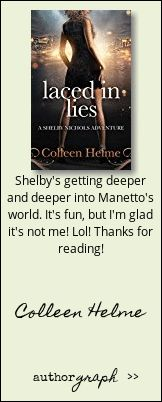 Authorgraph from Colleen Helme for Laced in Lies: A Shelby Nichols Mystery Adventure (Shelby Nichols Adventure Series Book Mystery, Thankful, Adventure, Memes, Books, Libros, Meme, Book, Adventure Movies
