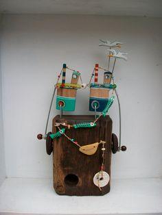 Jane Ryan/Opishop - Double boats crank toy
