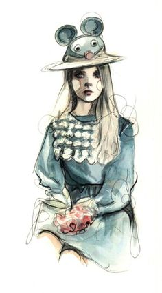 PAPERFASHION | where fashion meets paper | Page 47/ see also  http://paperfashion.net/2013/03/11/delpozo/: