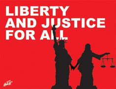 Image result for liberty and justice for all sign