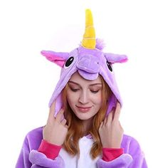 Luyeiand Adult Unicorn Pajamas Animal Cosplay Costume Onesie Halloween Gift * Information could be found by clicking the photo. (This is an affiliate link). Halloween Onesie, Halloween Gifts, Halloween Costumes, Cosplay Costumes, Onesies, Aurora Sleeping Beauty, Pajamas, Animals, Link