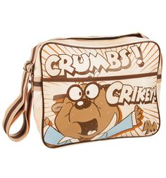 Retro Dangermouse Penfold Oh Crumbs Messenger Bag