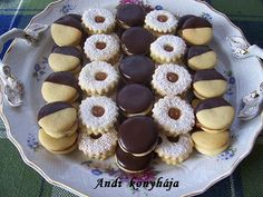 Andi konyhja - Stemny s telreceptek kpekkel - G-Portál Hungarian Cookies, Hungarian Recipes, Sweets Recipes, Christmas Cookies, Recipies, Cheesecake, Muffins, Favorite Recipes, Chocolate
