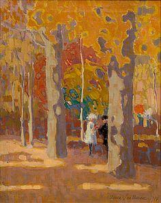 ANNA SNELLMAN Anna Lovisa Snellman-Kaila (os. Snellman, 18. toukokuuta 1884 Viipuri – 5. huhtikuuta 1962 Helsinki) oli suomalainen taidemaalari. RENDEZ-VOUS IN THE PARK.