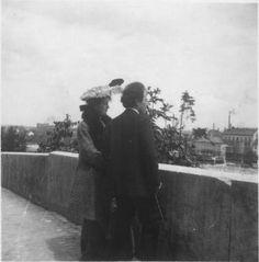 Alma Schindler w/Gustav Mahler