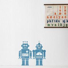 Robots WallSticker for Kids