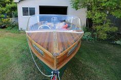 GIESLER 18 ft. cedar strip boat | powerboats, motorboats | Hamilton | Kijiji