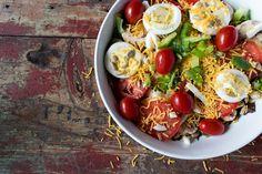 Receita de Salada de Ovos e Folhas | Dicas de Saúde