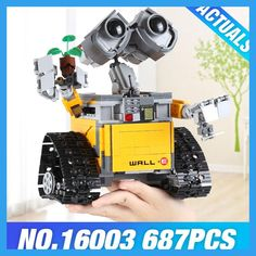 2017 New Lepin 16003 Idea Robot WALL E Building Set Kits Toys Educational Bricks Blocks Bringuedos 21303 for Children DIY Gift