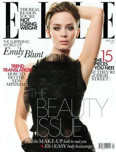 Emily Blunt for ELLE UK