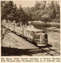 Roeding Park Train Ride