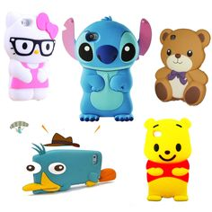 ULTIMATE CUTE MOBILE CASES COLLECTION FOR VARIOUS MODELS < CARTOON CASE COVER >