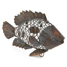 Learn more about our Cork Cage Fish Fish Shapes, Hand Shapes, Wine Cork Holder, Hobby Kids Games, Hobby Shops Near Me, Metal Fish, Hobby Photography, Patina Finish, Gifts For Wine Lovers