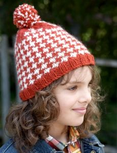 6845-Step 3: Houndstooth Hat