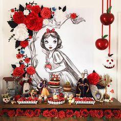 36 Ideas birthday party disney snow white for 2019 Snow White Fairytale, Snow White Wedding, Girls Birthday Party Themes, Girl Birthday, Birthday Parties, Disney Party Decorations, Birthday Party Decorations, Adult Disney Party, Disney Diy