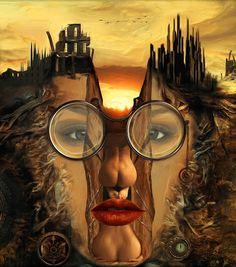 Surreal Artwork, Surrealism Painting, Marcel, Pixel Art, Fantasy Art, Digital Art, Illustration, Drawings, Dreams