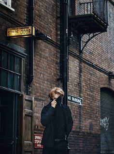 Domhnall Gleeson Esquire shoot 2015