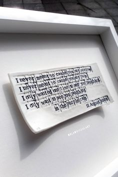 Rain Words, Unique Gifts, Best Gifts, Prince Purple Rain, For Your Eyes Only, Porcelain Clay, Tile Art, Wedding Gifts, Lyrics