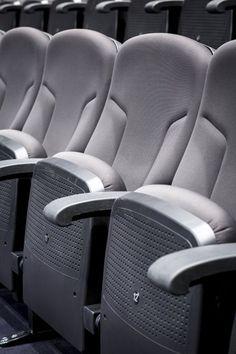 Case Studies, Museum of the Second World War Seats seating auditorium