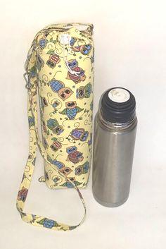 Bolsinha para garrafa de água,pode ser levada na bolsa ou a tiracolo,Conserva a água gelada.